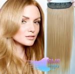 Clip in pás 60cm kanekalon - prírodná blond #22
