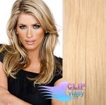 Clip in vlasy 41cm - prírodná/světlešia blond #18/22
