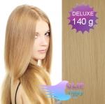 DELUXE Clip in vlasy 41cm REMY - prírodná blond #22