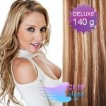 DELUXE Clip in vlasy 41cm REMY - svetlý melír #12/613
