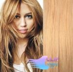 Vlnité clip in vlasy - prírodná/svetlejšia blond #18/22